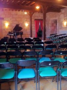 concert en salle médiévale